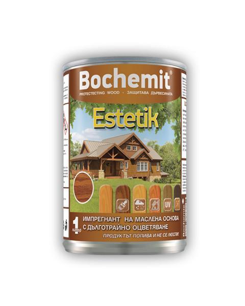 Импрегнатор Bochemit Estetik 1кг, махагон