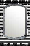 Огледало за стена сребристо