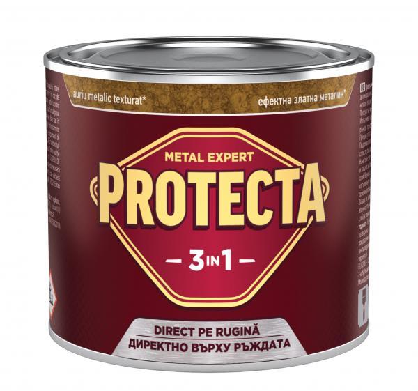 Протекта 3в1  0.5л, злато металик