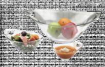 Стъклена купа за салата - 23см