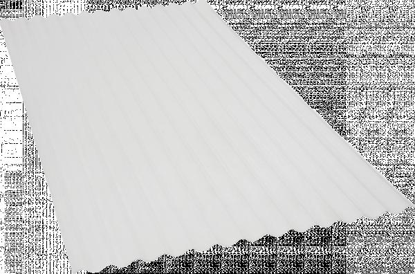 Вълнообразен лист, акрил прозрачен 2х1 м