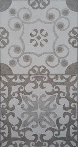 Декоративна плочка за баня Klio Gris 25x50 см