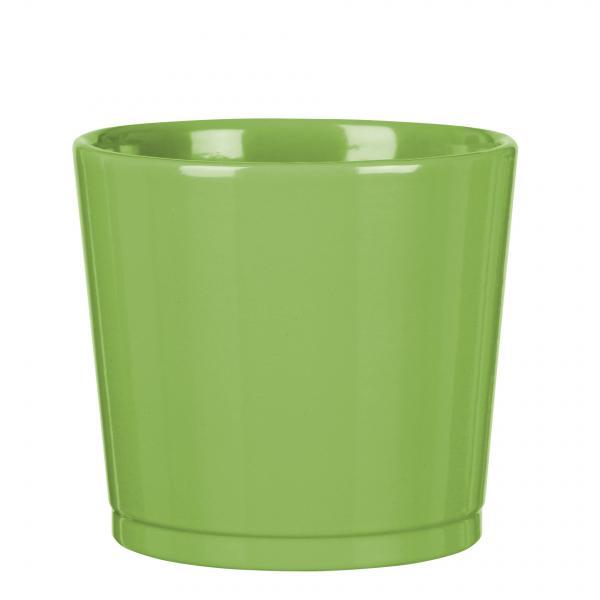 Керамична кашпа Севилия 883/11 зелена
