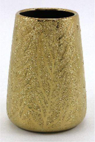 Поставка за четка за зъби Сахара златна