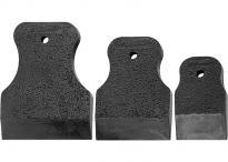 Комплект шпакли черна гума  SPARTA