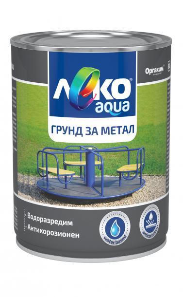 Леко Aqua грунд за метал 0.7л