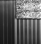 Панел PVC 16мм Прозр.200Х20см.