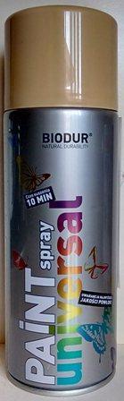 Спрей Biodur RAL 1001(Бежов), 400мл