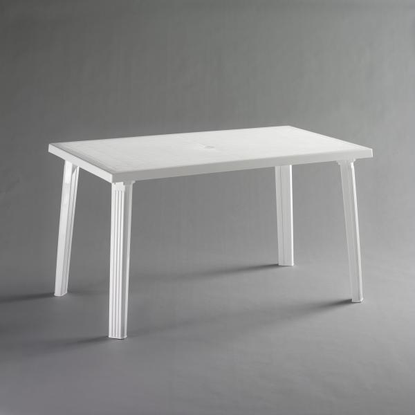 Маса Доминго 130х75 см бяла