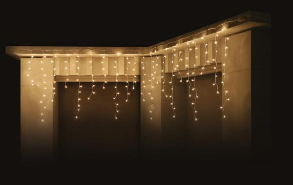 Светеща завеса 'Висулка' IN