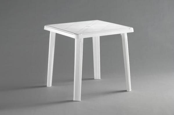 Маса Роди 75х75 см, бяла