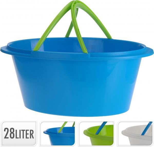 Кош за пране с дръжки 28л