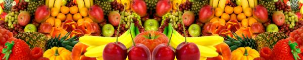 Принт гръб с плод и зеленчук , код 026