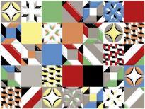 Декор Emma Patchwork 25x33