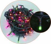 Светещ гирлянд 40 LED разноцветни