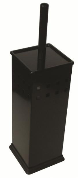 Четка за тоалетна квадратна черна
