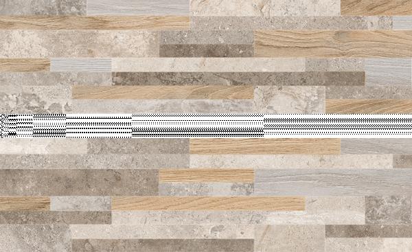 Гранитогрес Muro Legno Mix 17x62см