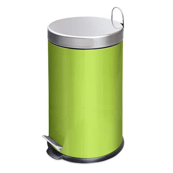 Кош за смет 20 л, зелен