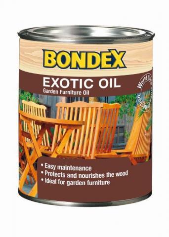 Масло за екзотично дърво Bondex 0.75л, безцветно
