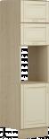 Висок шкаф за фурна Ванила