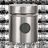 Буркан 8.5x10см инокс