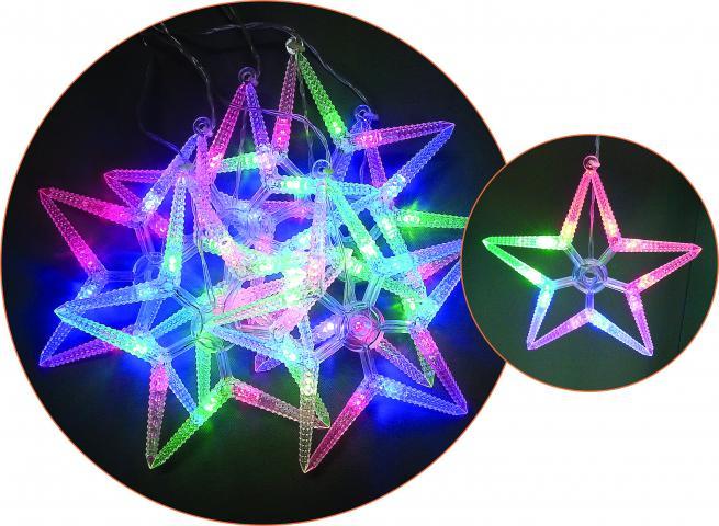 Светещ гирлянд 'Падащи звезди' 3