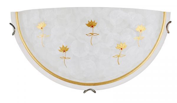 Аплик рисуван Art flower бронз,Е27/60W