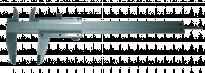 Шублер метален 200х0.02мм TMP