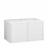 Шкаф Белами 90 см с ум-к, бял