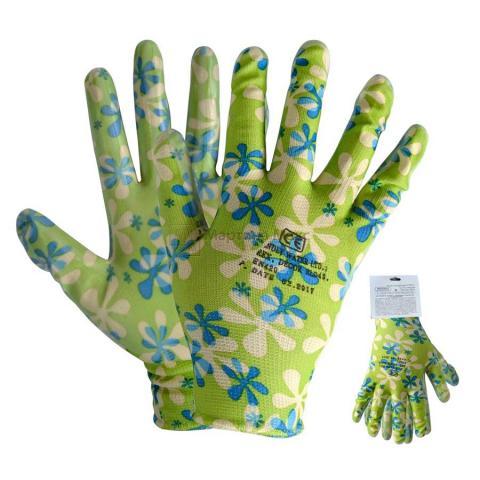 Ръкавици топени в латекс DECOREX