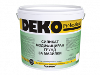 Силикат-модифициран грунд Deko Professional 25кг, бял