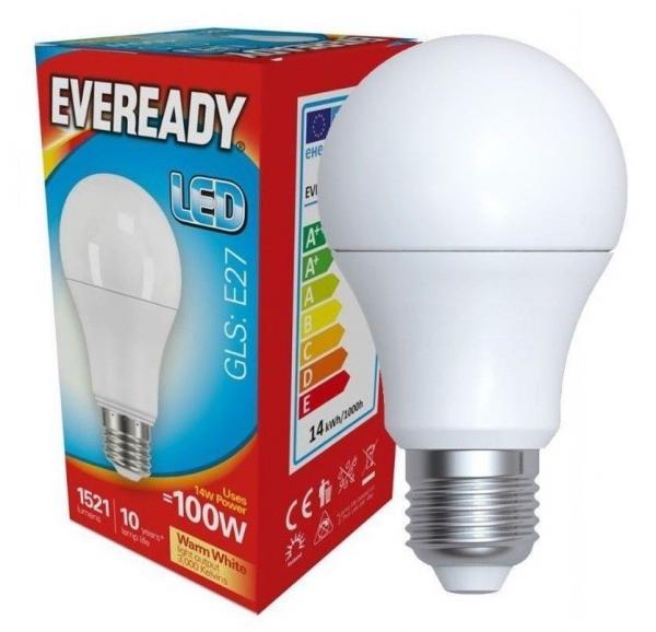 LED крушка 14W Е27 1521LM 3000К