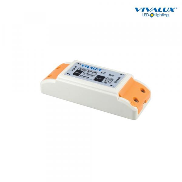 LED захранване 12W, In100-240V, Out 12VDC-1A