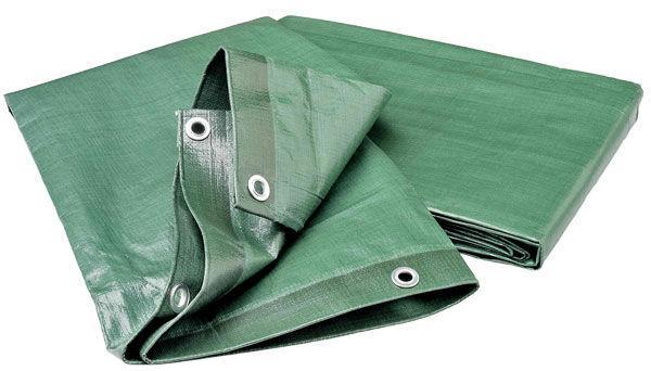 Платнище 8x10м зелено/сребрo