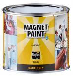 Магнитна грунд-боя Мagpaint  0.5л, тъмно сива