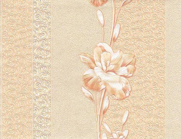 Тапет Бежови цветя