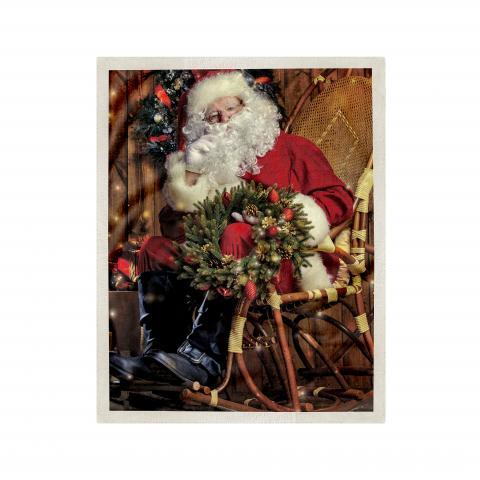 Одеяло Коледна шерпа дизайн 2