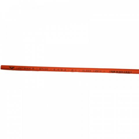 Термосвиваем шлаух 6.4/3.2 червен Elematic