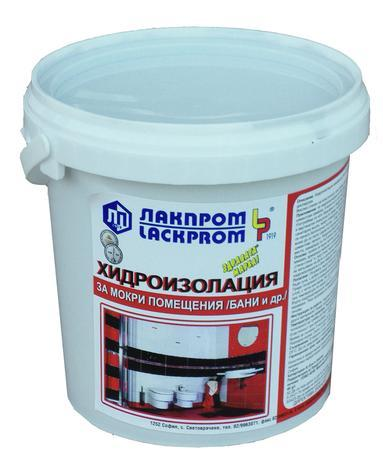 Хидроизолация оксидно червена 4 кг