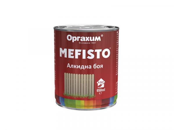 Алкидна боя Mefisto 0.65л, RAL 9010