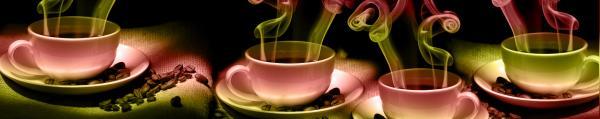 Принт гръб с кафе и напитки, код 02