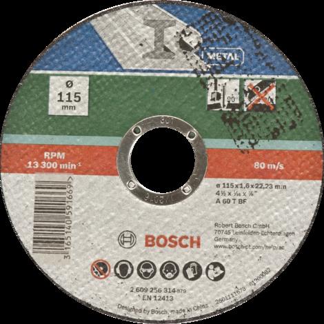 Диск за рязане на метал Bosch 115mm