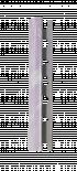Лайсна 10мм външен ъгъл PVC Мрамор Св.Син