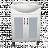 Шкаф за баня с мивка Бриз 60