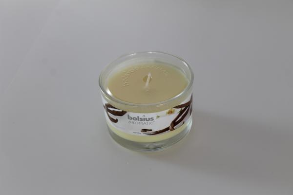 Ароматна свещ в буркан 26 ч. Ванилия