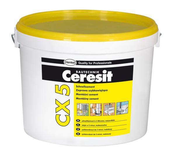 Бързосъхнещ цимент CX 5.5 кг
