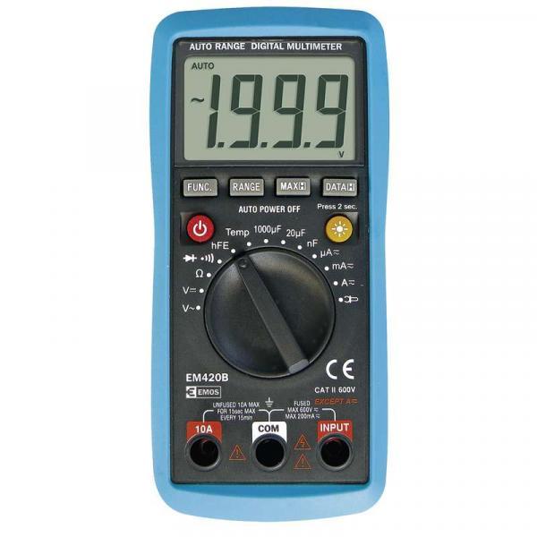 Мултиметър EM420B EMOS 600V