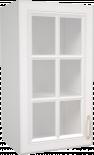Горен шкаф с витрина 40х72 Мишел