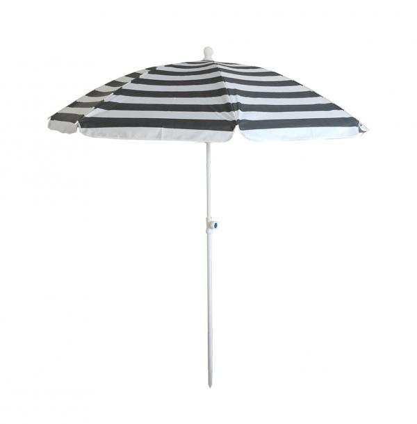 Балконски чадър ф180см, райе
