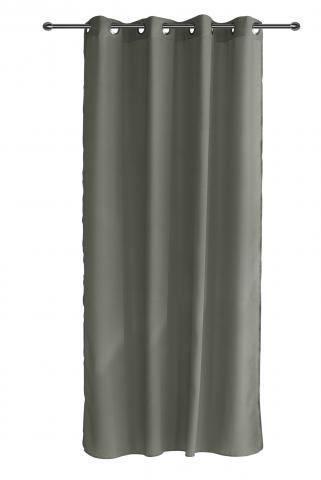 Готово перде CHIFFON 140x250 см тъмно сив